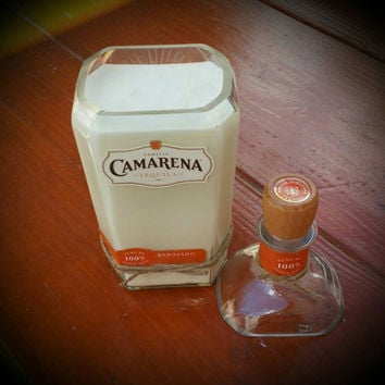 Camarena Tequila candle