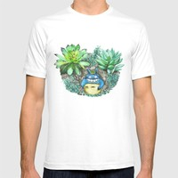 succulent plant set T-shirt by Color And Color