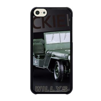 JEEP WILLYS TRUCK iPhone 5C Case