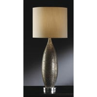 Crestview Collection  Leopard Print Table Lamp, Yellows / Golds, Ceramic