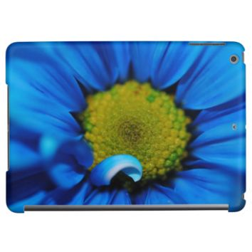 Blue daisy Close Up iPad Air Covers