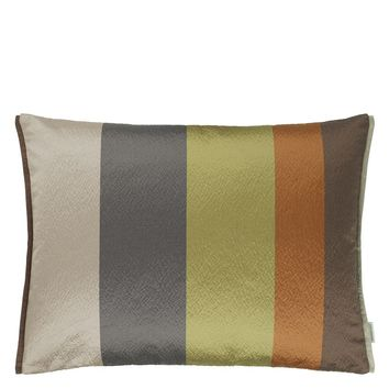 Designers Guild Saarika Olive Decorative Pillow