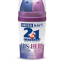 Swiss Navy 2-In-1 Line - His & Hers Gels