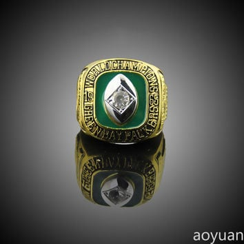 aoyuan Championship rings,1965 Green Bay Packers Championship Ring, sports fans rings, men gift