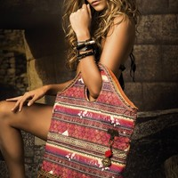 Mar de Rosas Swimwear 2015 'Mexico Del Mar' Hobo Handbag | The Orchid Boutique
