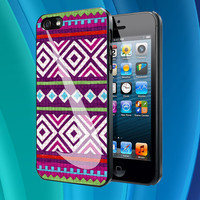 Nike Aztec Pattern custom - iPhone Case iPhone 4 Case iPhone 4S Case iPhone 5 Case skull iphone case