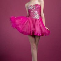 PRIMA C1330 Pink Homecoming Dress