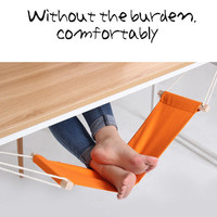 FUUT Desk Feet Hammock Foot Chair Care Tool The Foot Hammock Outdoor Rest Cot