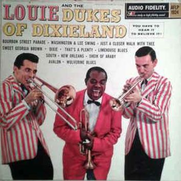 Louis Armstrong And The Dukes Of Dixieland - Louie And The Dukes Of Dixieland (LP, Album, Mono)