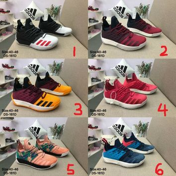 Adidas Harden Vol.2 Men Women Fashion Casual Sports Basketball Shoes 6 Colors