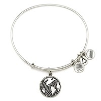 Alex and Ani Make Your Mark Charm Bangle - Rafaelian Silver Finish