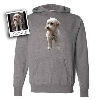Custom Photo Pet Hoodie by Tote Tails