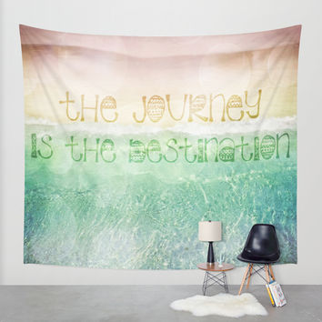 The Journey Wall Tapestry by Jenndalyn   Society6