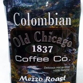"Colombian ""Mezzo Roast"" Medium Roast Ground Coffee by Old Chicago Coffee Co."
