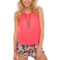 Irreplaceable Top - Coral