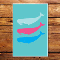 Three Whales Poster