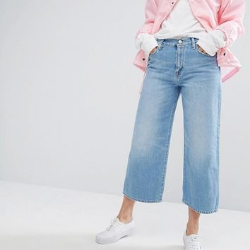 Carhartt WIP Relaxed High Waist Awkward Length Jeans at asos.com