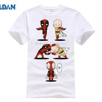 Deadpool Dead pool Taco GILDAN  T-Shirt Men's One Punch Man Shirt Dragon Ball z shirt DBZ Saitama Funny Homme Camisetas Summer Tshirt AT_70_6