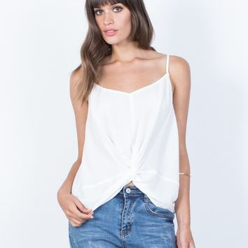Olivia Knotted Tank