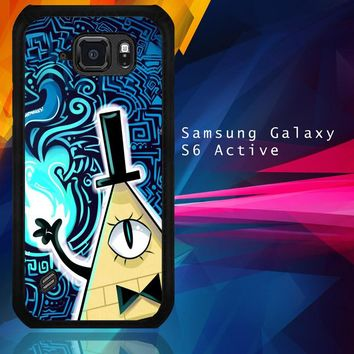 Gravity Falls Bill Cipher  X4424 Samsung Galaxy S6 Active  Case