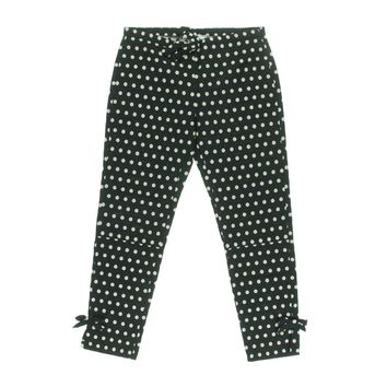 Vivetta Womens Polka Dot Flat Front Cropped Pants