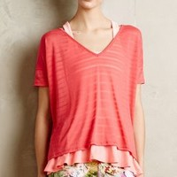 High-Low Crossback Top by Beyond Yoga Coral