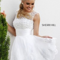 Sherri Hill 4302 Beaded Party Dress