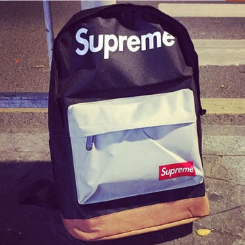 Supreme Backpack College School Bag Travel Bag