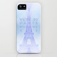 One Direction: So Paris iPhone Case by Holly Ent | Society6