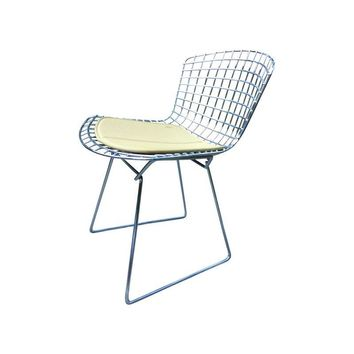 Pre-owned Bertoia Chrome Side Chair for Knoll