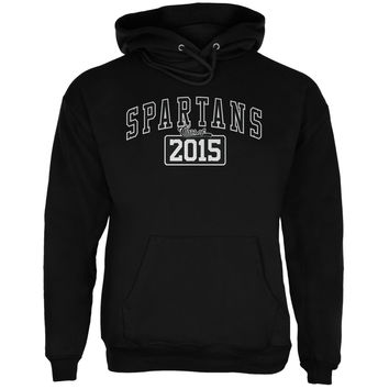 Graduation - Spartans Class of 2015 Black Adult Hoodie