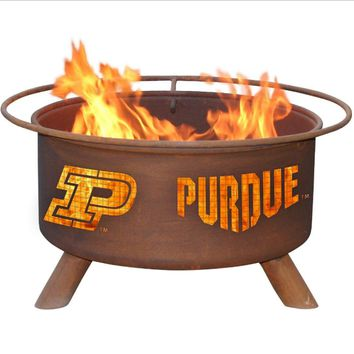Purdue Steel Fire Pit by Patina Products