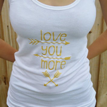 Love You More Collection/Arrow Shirt/ Infant- Adult