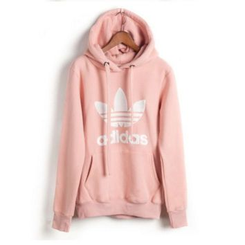 """Adidas"" Casual Fashion Letter Print Lover Thickened Cotton Sweatshirt Hoodie Sweater"