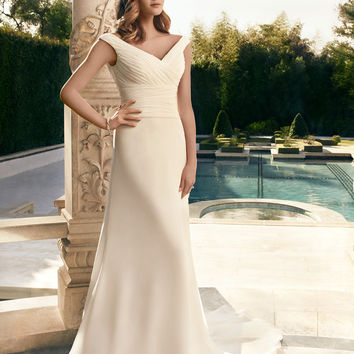 Casablanca Bridal 2181 Chiffon A-Line Wedding Dress