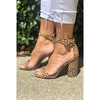 Whatever You Like Heel- Leopard