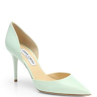 Jimmy Choo - Addison d'Orsay Leather Pumps