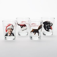 ICUP 4-Pack National Lampoon's Christmas Vacation Shot Glasses
