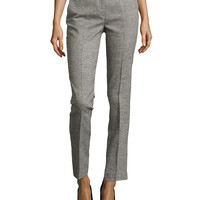 Samantha Herringbone Skinny Pants,
