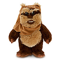 Wicket Ewok Plush - Star Wars - Small - 13''