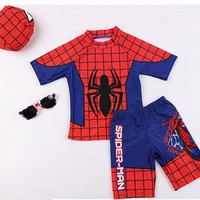 Kids Spiderman Swimsuit