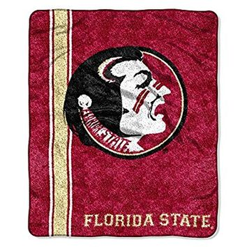The Northwest Company NCAA Florida State Seminoles Jersey Sherpa Throw, 50-Inch by 60-Inch