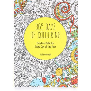 365 Days Of Colouring Book