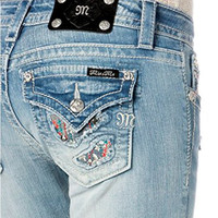 Miss Me Junior's Bootcut Jeans