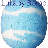 Lullaby Bath Bomb Fizzy 8oz Lullaby Bath Bomb Fizzy [LullabyBB] - $3.99 : FizzButter, Best Bath Bombs, Bubble Bars and Shea Massage Soap