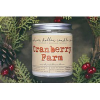 Cranberry Farm - 8oz Soy Candle