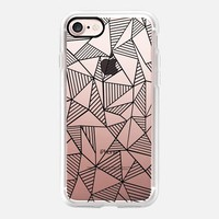 Abstraction Lines iPhone 7 Case by Project M | Casetify