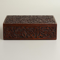 Espresso Ashlyn Jewelry Box - World Market