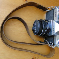 Leather Camera Strap / Minimalist Camera Strap