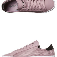 ADIDAS ORIGINALS COURTVANTAGE SHOE - PURPLE PURPLE BLACK